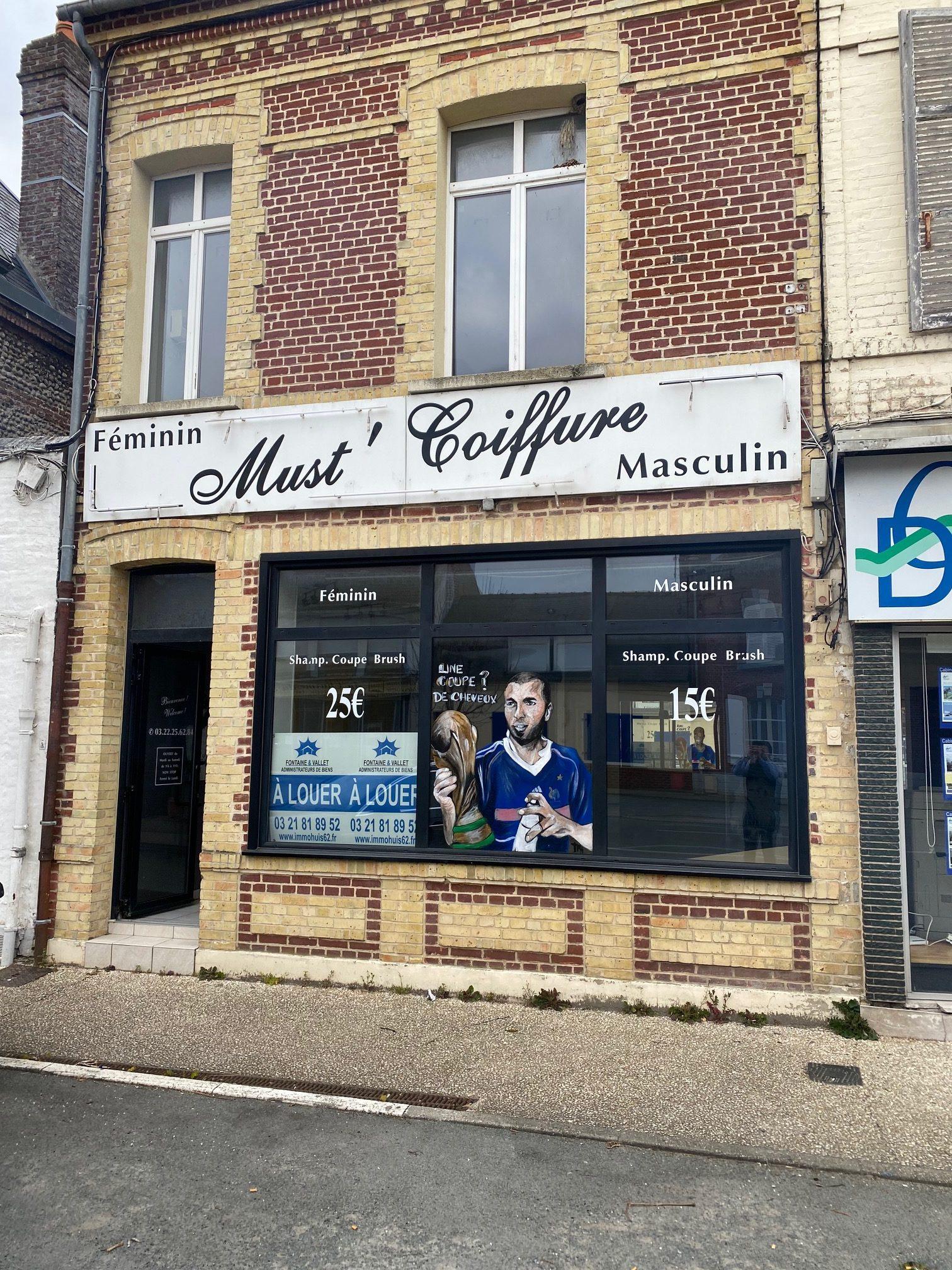 LOCAL COMMERCIAL + HABITATION CENTRE VILLE DE RUE (80)